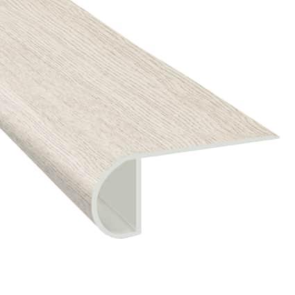 Urban Mist Oak Laminate Waterproof 2.25 in wide x 7.5 ft Length Low Profile Stair Nose