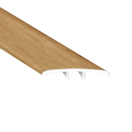 Bay Bridge Oak Laminate Waterproof 2.26 in wide x 7.5 ft Length Low Profile T-Molding
