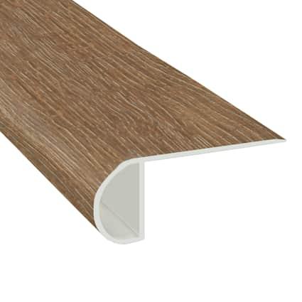 Sagrada Oak Laminate Waterproof 2.25 in wide x 7.5 ft Length Low Profile Stair Nose