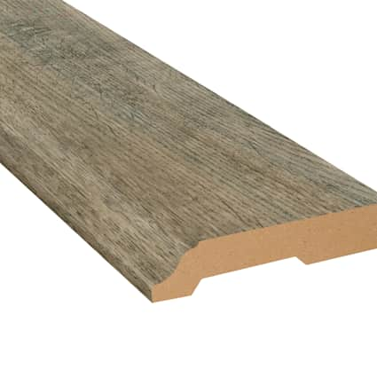 Skippers Canyon Oak Laminate 3.25 in wide x 7.5 ft Length Baseboard