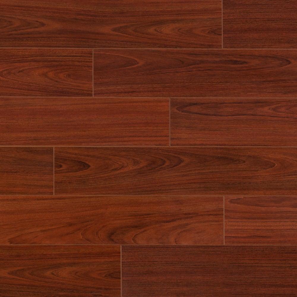 Dream Home 10mm Pad Boa Vista Brazilian, Traditional Living Laminate Flooring Brazilian Cherry