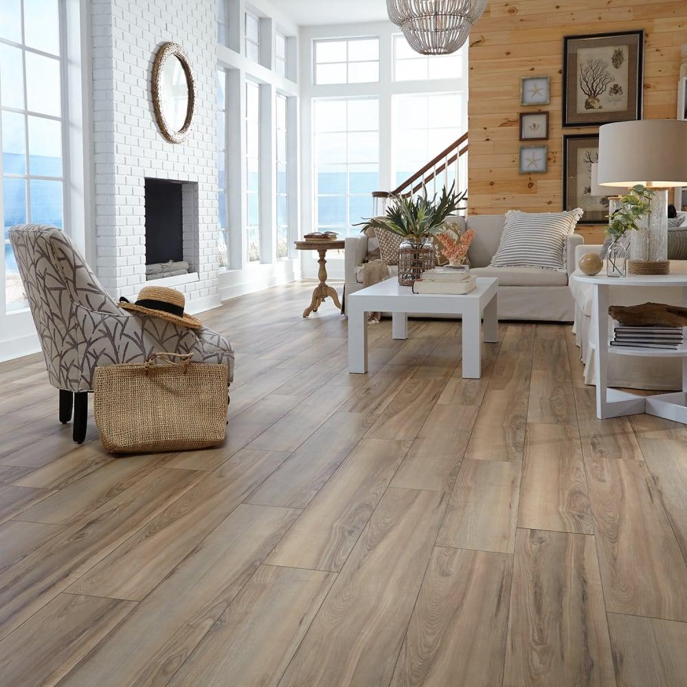 12mm Sunswept Ash Laminate Flooring, Who Makes Dream Home Laminate Flooring