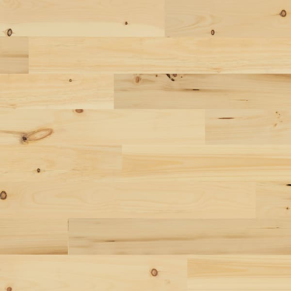 3/4 in. x 5 1/8 in. x 6' New England White Pine Unfinished Solid Hardwood Flooring