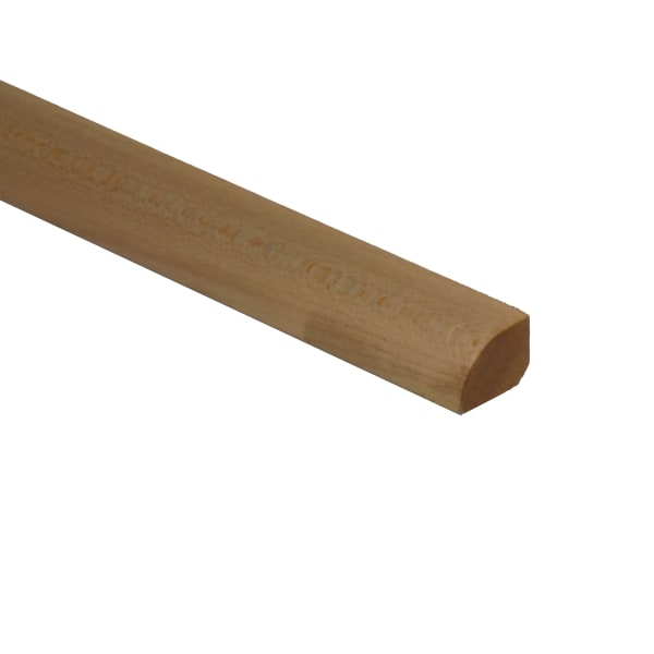 Prefinished Maple Hardwood 1/2 in thick x .75 in wide x 6.5 ft Length Shoe Molding