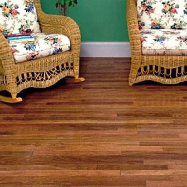 3/4 in. x 2.25 in. Select Brazilian Cherry Unfinished Solid Hardwood Flooring