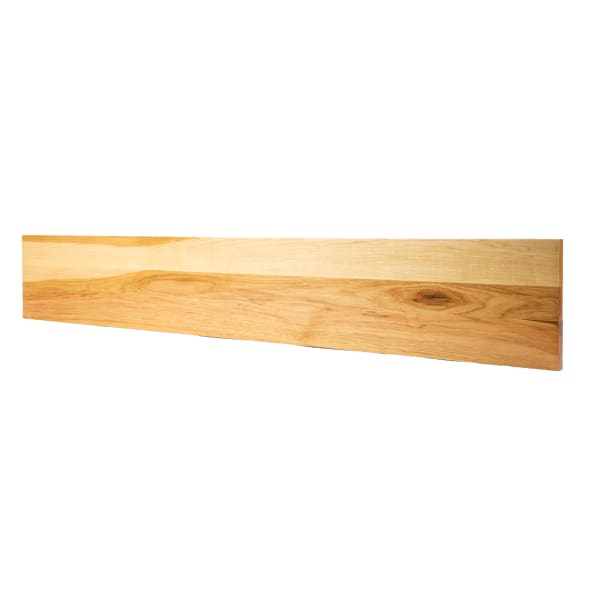Prefinished Hickory 3/4 in thick x 7.25 in wide x 48 in Length Riser