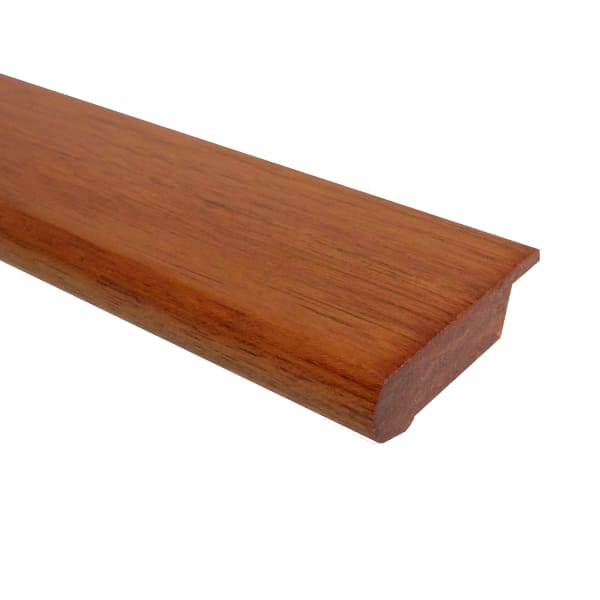 Prefinished Brazilian Cherry Hardwood 13/16 in thick x 2.75 in wide x 6.5 ft Length Stair Nose