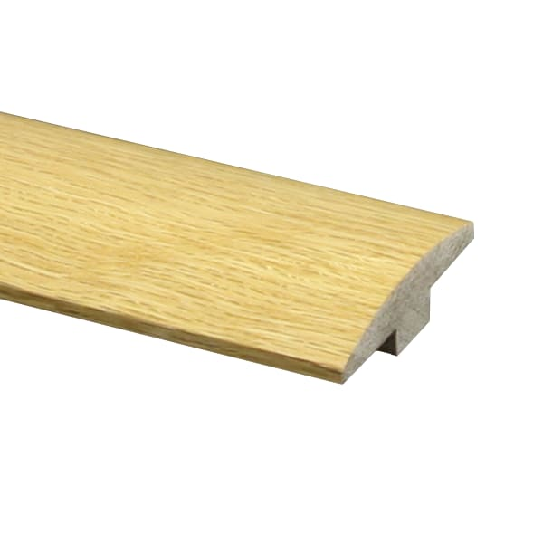 Prefinished Red Oak Hardwood 5/8 in thick x 2 in wide x 6.5 ft Length T-Molding
