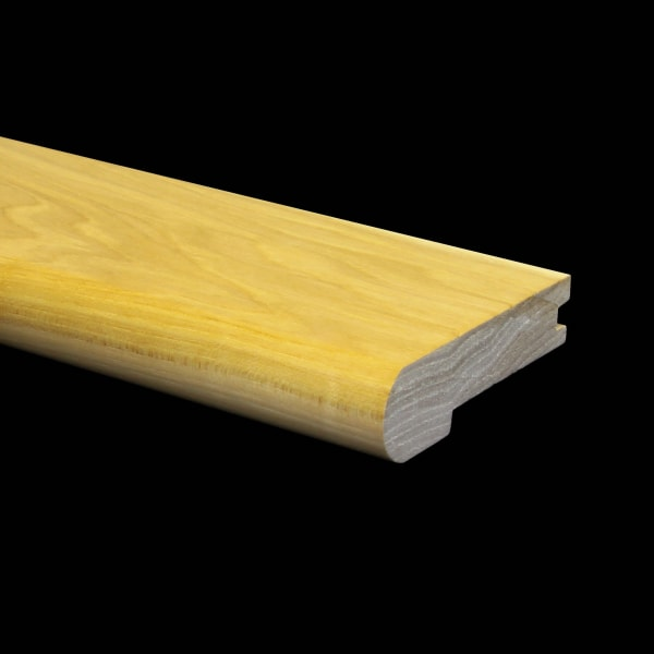 Prefinished Hickory Hardwood 3/4 in thick x 3.25 in wide x 6.5 ft Length Stair Nose
