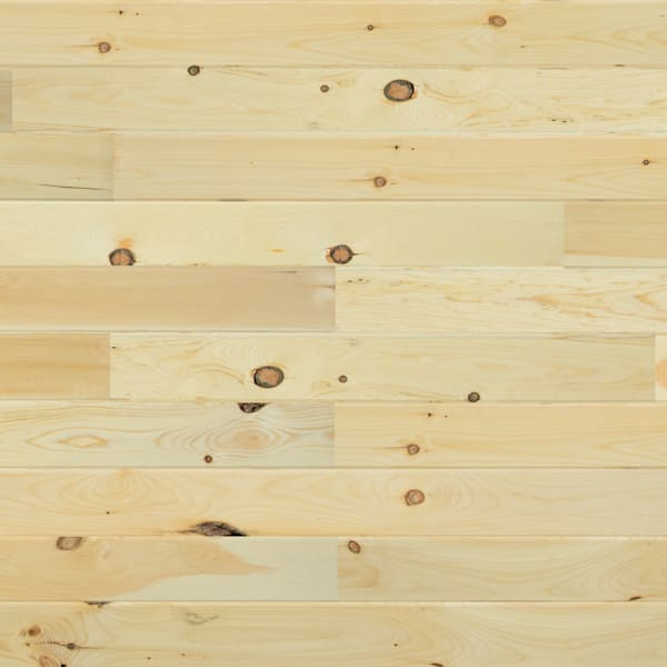 3/4 in. x 5 1/8 in. New England White Pine Unfinished Solid Hardwood Flooring