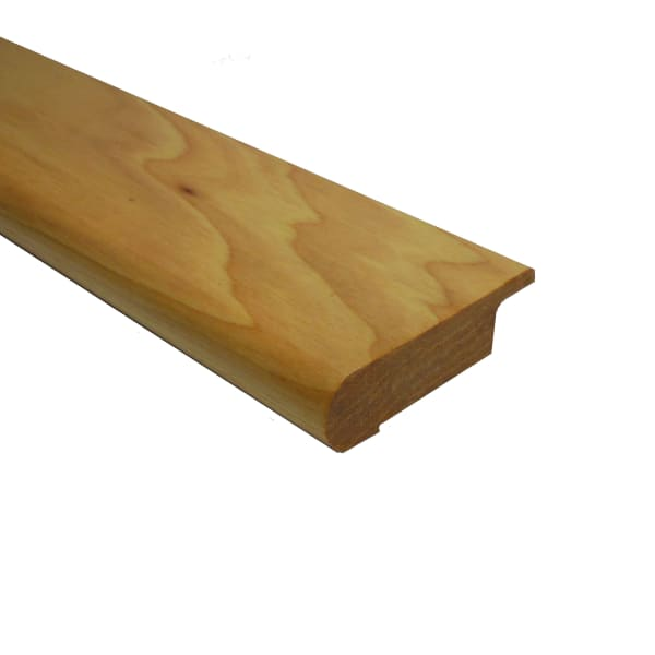Prefinished Natural Hickory Quick Click Hardwood 1/2 in thick x 2.75 in wide x 6.5 ft Length Stair N