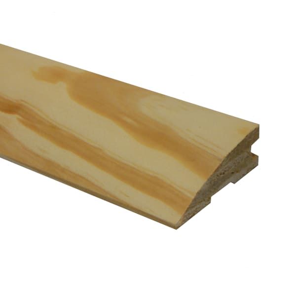 Unfinished Southern Yellow Pine Hardwood 3/4 in thick x 2.25 in wide x 78 in Length Reducer