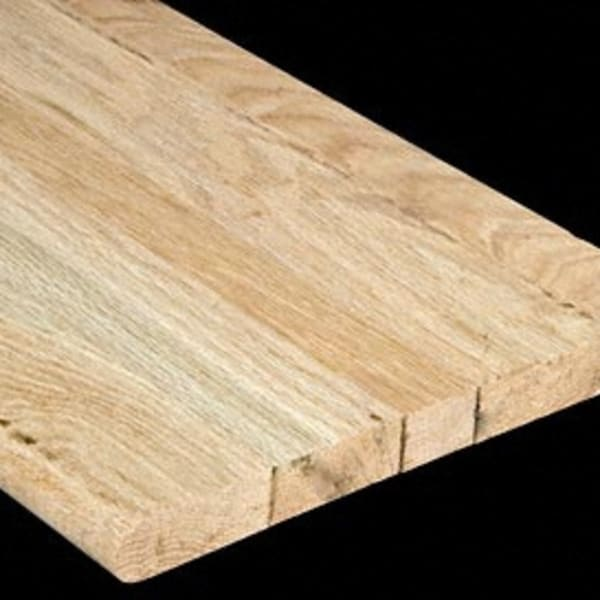 Unfinished Red Oak Solid Hardwood 1 in thick x 11.5 in wide x 36 in Length Stair Tread