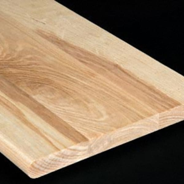 Unfinished Ash 1 in thick x 11.5 in wide x 48 in Length Stair Tread