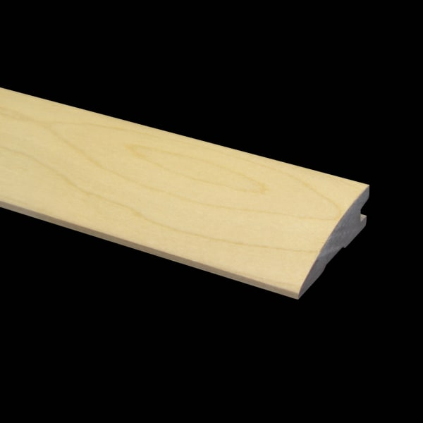 Prefinished Maple Hardwood 3/4 in thick x 2.25 in wide x 6.5 ft Length Reducer