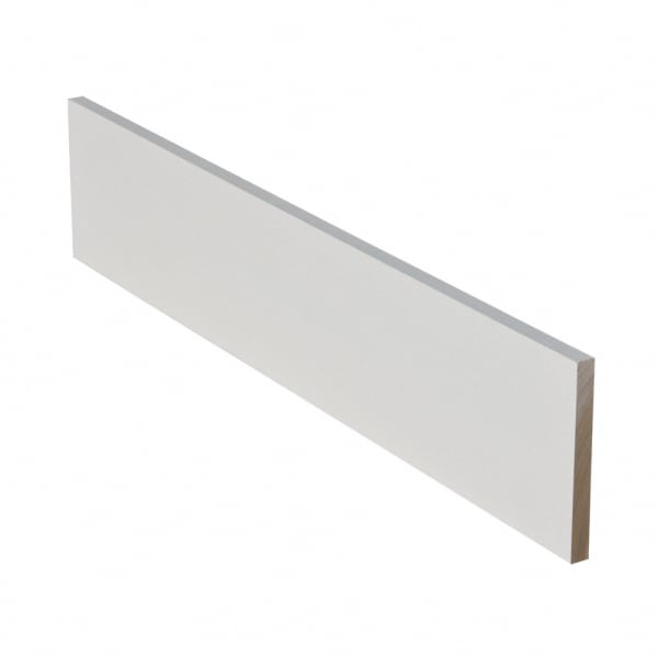 Prefinished Primed Poplar Solid Hardwood 3/4 in thick x 7.25 in wide x 36 in Length Riser