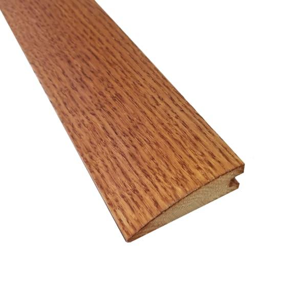 Gunstock Oak Hardwood 3/4 in thick x 2.25 in wide x 6.5 ft Length Reducer