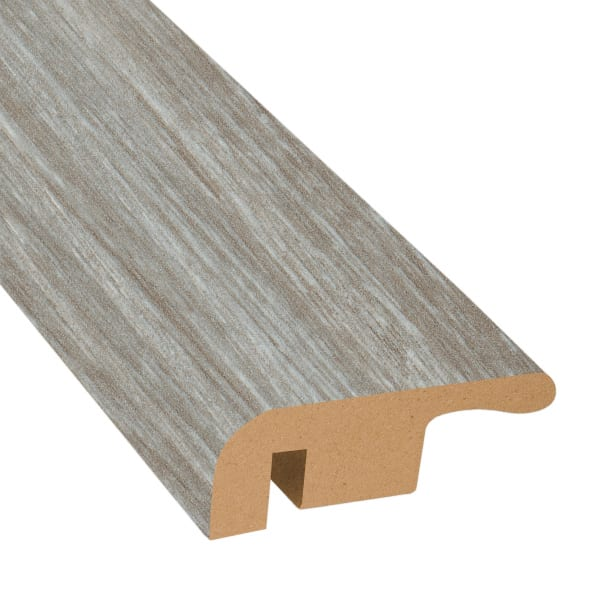 Dunes Bay Driftwood Laminate 1.374 in wide x 7.5 ft Length End Cap