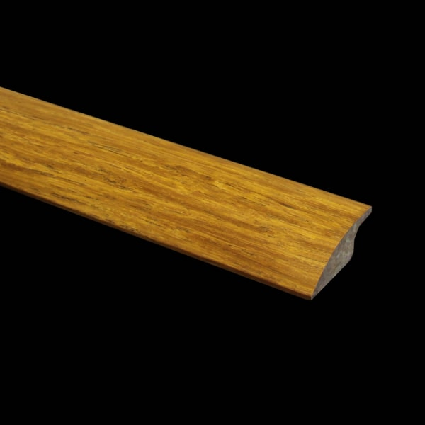 Prefinished Carbonized Strand Bamboo 0.375 in thick x 1.875 in wide x 6 ft Length Reducer