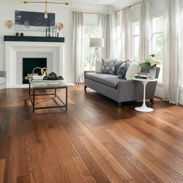 3/4 in. x 4 in. Summer Harvest Hickory Solid Hardwood Flooring