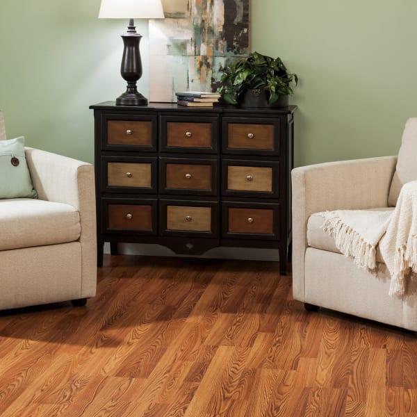 8mm+pad Cinnabar Oak Laminate Flooring