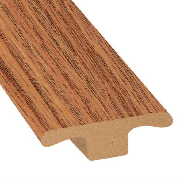 Cinnabar Oak Laminate 1.75 in wide x 7.5 ft Length T-Molding