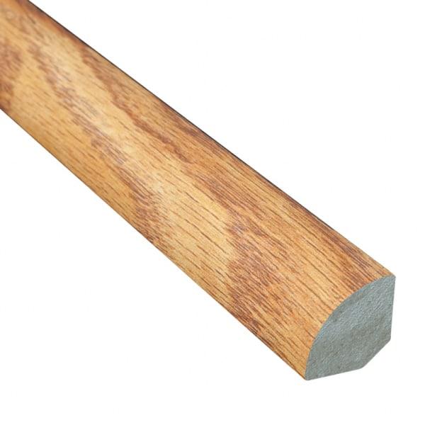 Butterscotch Oak Laminate 1.075 in wide x 7.5 ft Length Quarter Round
