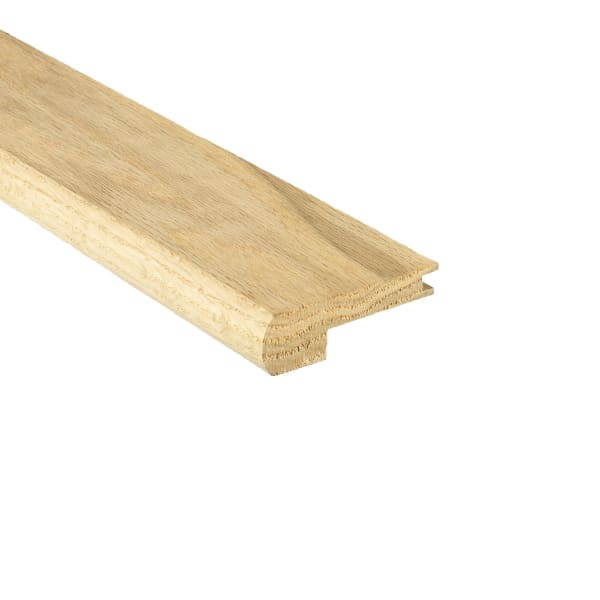 Unfinished White Oak Hardwood Stair Nose 3/4 in thick x 3.5 in wide x 8 ft Length