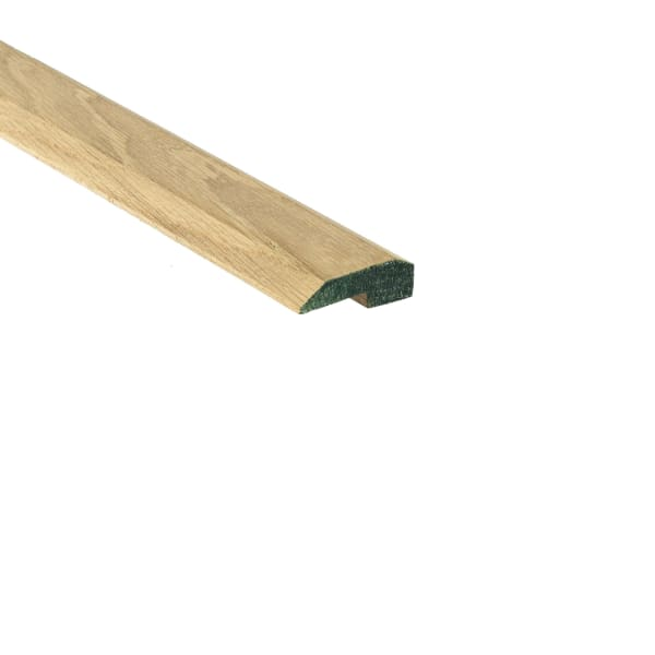 Unfinished White Oak Hardwood 5/8 in thick x 2 in wide x 8 ft Length Threshold