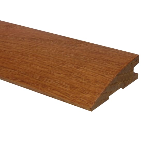 Prefinished Classic Gunstock Oak Hardwood 3/4 in thick x 2.25 in wide x 78 in Length Reducer