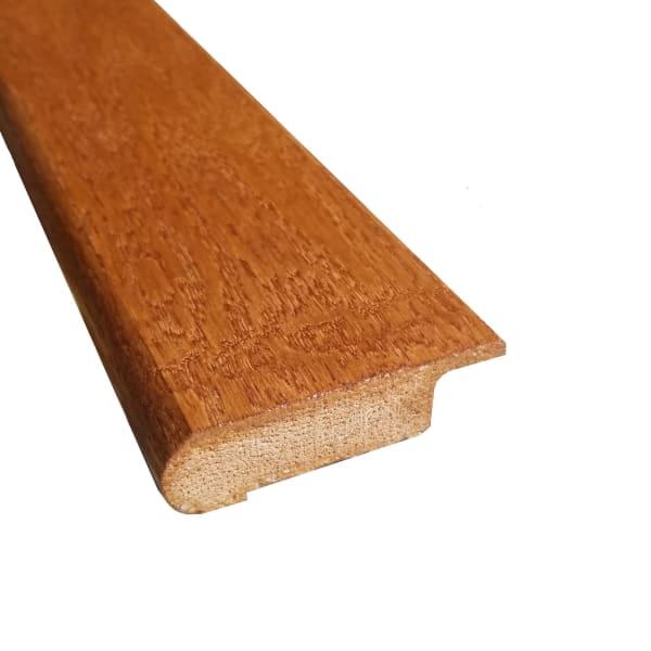 Prefinished Hardwood Overlap Stair Nose - Gunstock Oak