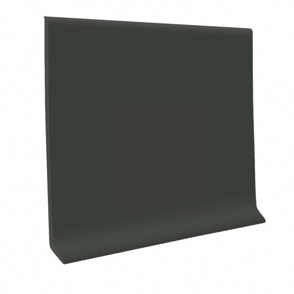 Vinyl 4 in x 4 ft pcs Brown-Black 120 ft/bx Baseboard