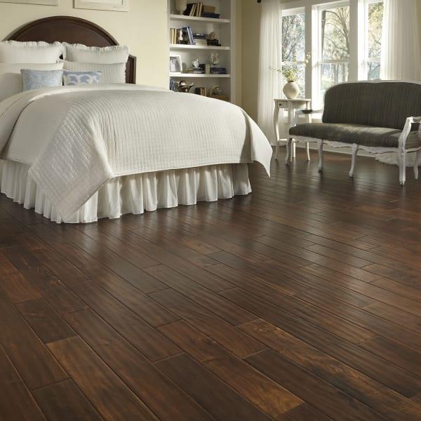 9/16 in. x 5 in. Burnished Acacia Distressed Engineered Hardwood Flooring