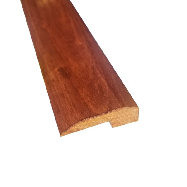 Prefinished Copper Hevea Hardwood 5/8 in thick x 2 in wide x 78 in Length Threshold