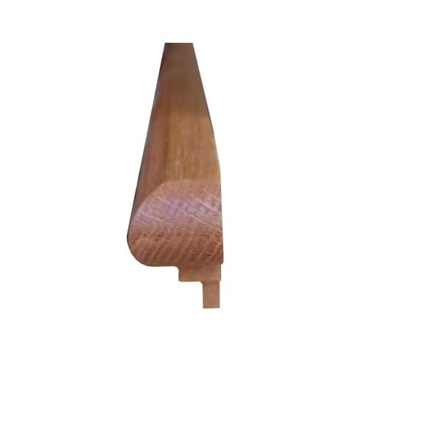 Prefinished Butterscotch Oak 1 in x 1.875 in x 14.75 in Retro Fit Return