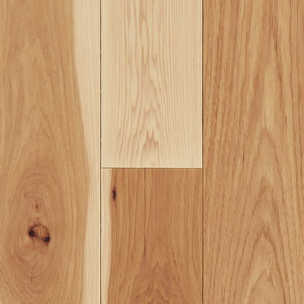 3/4 in. x 5 in. Natural Hickory Solid Hardwood Flooring