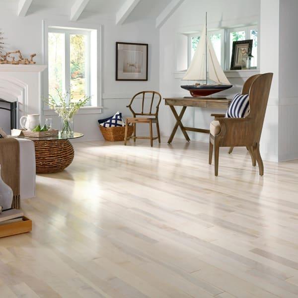 3/4 in. x 3.25 in. Farmhouse White Birch Solid Hardwood Flooring