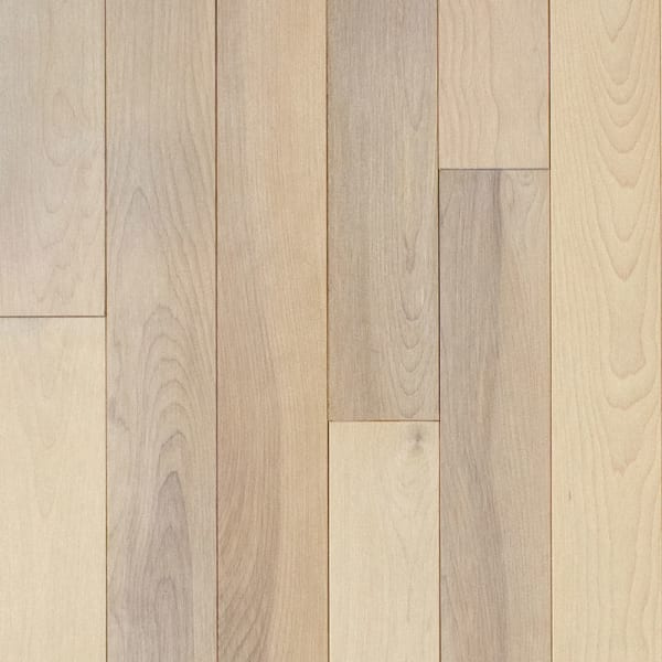 Farmhouse White Birch Solid Hardwood Flooring