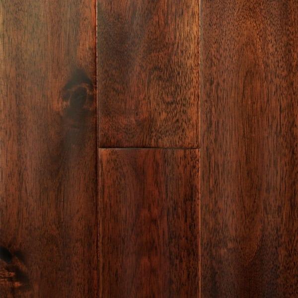 Hazelnut Acacia Distressed Solid Hardwood Flooring