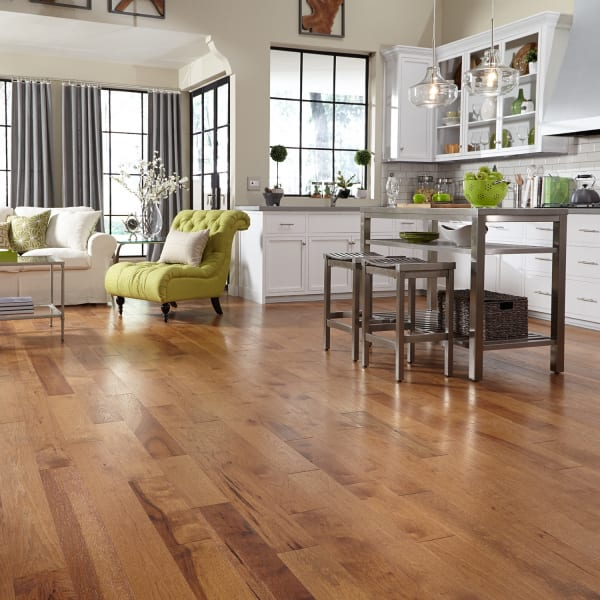 3/4 in. x 5 in. Sugar Mill Hickory Solid Hardwood Flooring