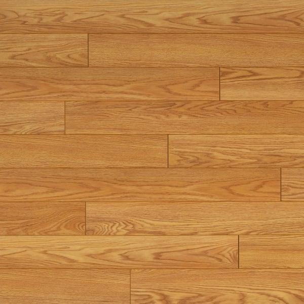Dream Home Xd 12mm Pad Select Red Oak, Wide Plank Oak Laminate Flooring
