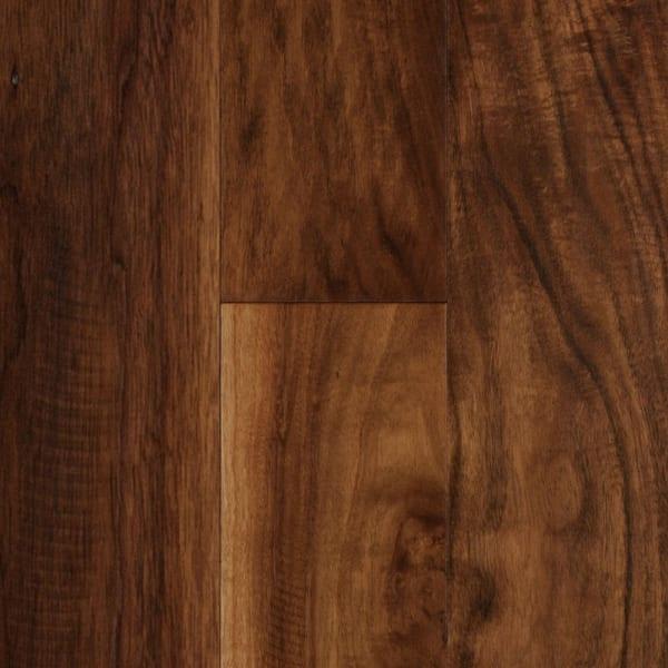 3/8 in. x 5 in. Natural Acacia Distressed Engineered Hardwood Flooring