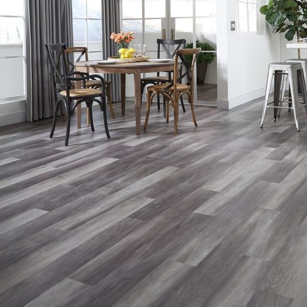 Tranquility Ultra 5mm Stormy Gray Oak Waterproof Luxury Vinyl Plank Flooring 6 In Wide X 48 In Long Ll Flooring
