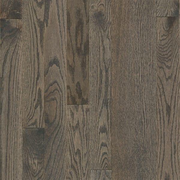 3/4 in. x 3.25 in. Gray Fox Oak Solid Hardwood Flooring