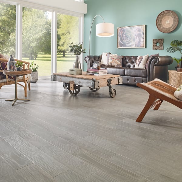 3/4 in. x 5 in. Cashmere Gray Oak Solid Hardwood Flooring