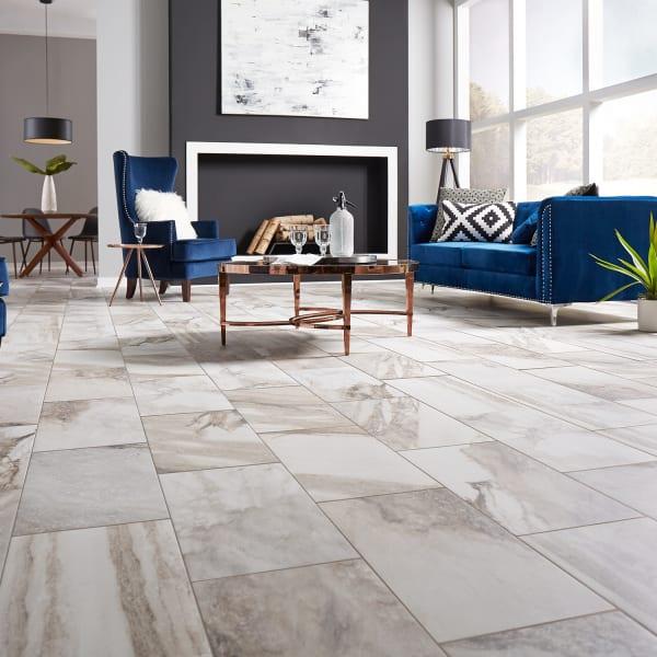 Costa Bella Marble Porcelain Tile, Porcelain Tile Flooring Pictures