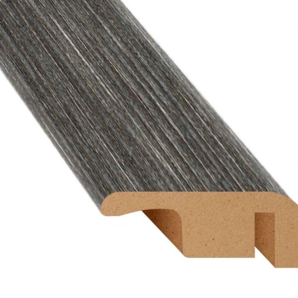 Midnight Oak Laminate Waterproof 1.374 in wide x 7.5 ft Length Low Profile End Cap