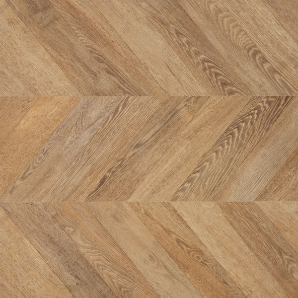 8mm Park Avenue Chevron 24 Hour Water-Resistant Laminate Flooring