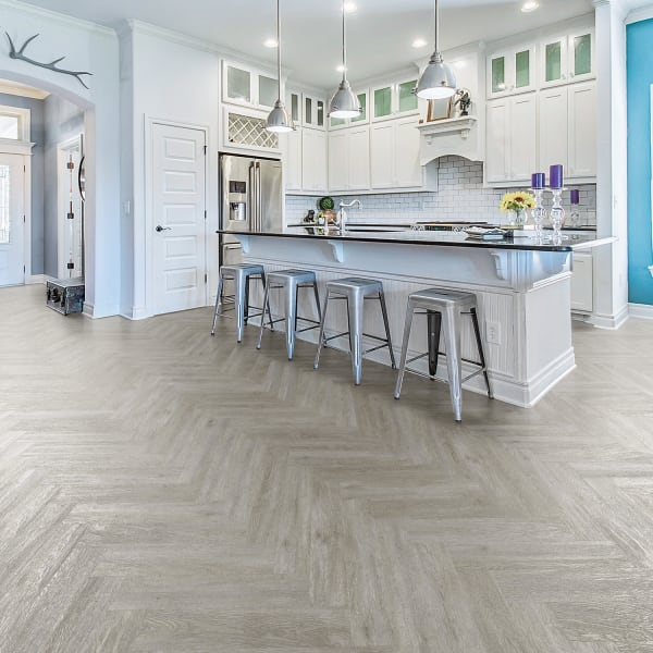 Coreluxe Xd 6mm W Pad Citadel Gray Oak, What Is The Best Vinyl Plank Flooring For A Kitchen