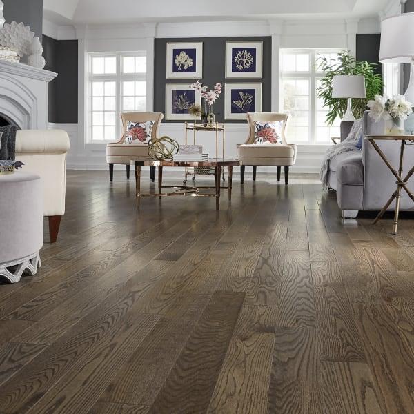 3/4 in. x 5 in. Gray Fox Oak Solid Hardwood Flooring